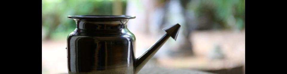 Traditional metal Lota, for Jala Neti