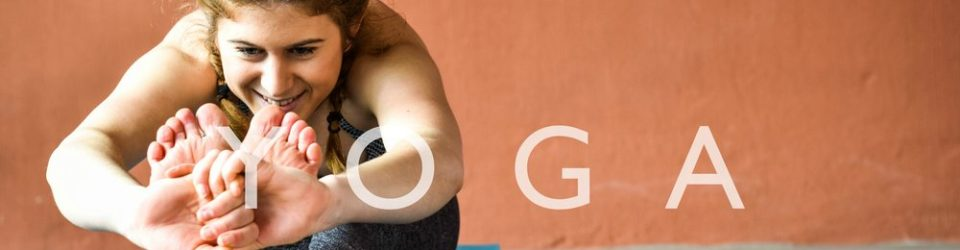 Yoga teacher Marie Wittock