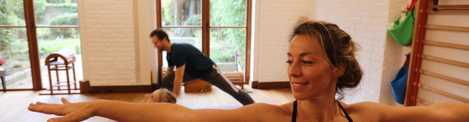 Yoga teacher Dorothée Mendel
