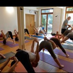 La salle d'Ashtanga Yoga de l'Institut de Bruxelles
