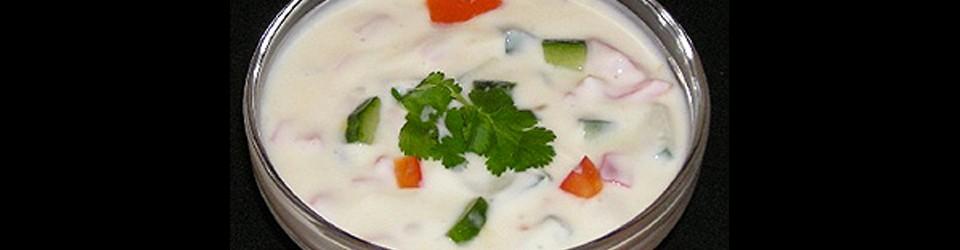 Raïta au yaourt